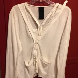 Rundholz black label double zip sweater XL